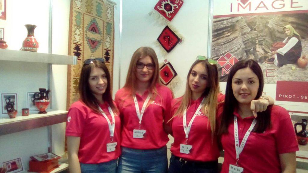Економска школа Пирот на сајму у Пловдиву у Бугарској