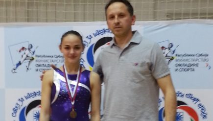 Нађа Панић трећа на Републичком првенству