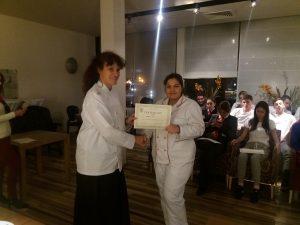 Obuka karving -dodela sertifikata